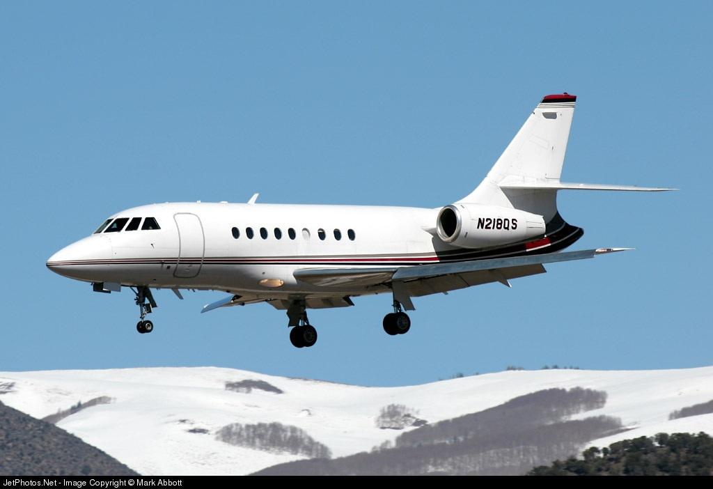 N218QS - Dassault Falcon 2000 - NetJets Aviation
