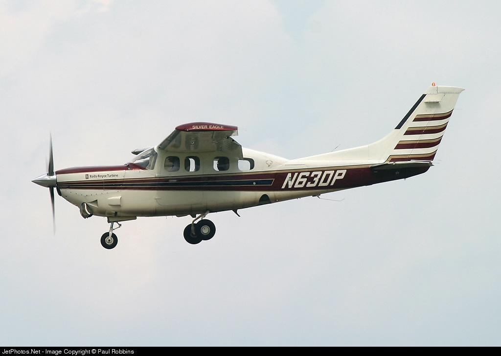 N63DP - Cessna P210N Silver Eagle - Private