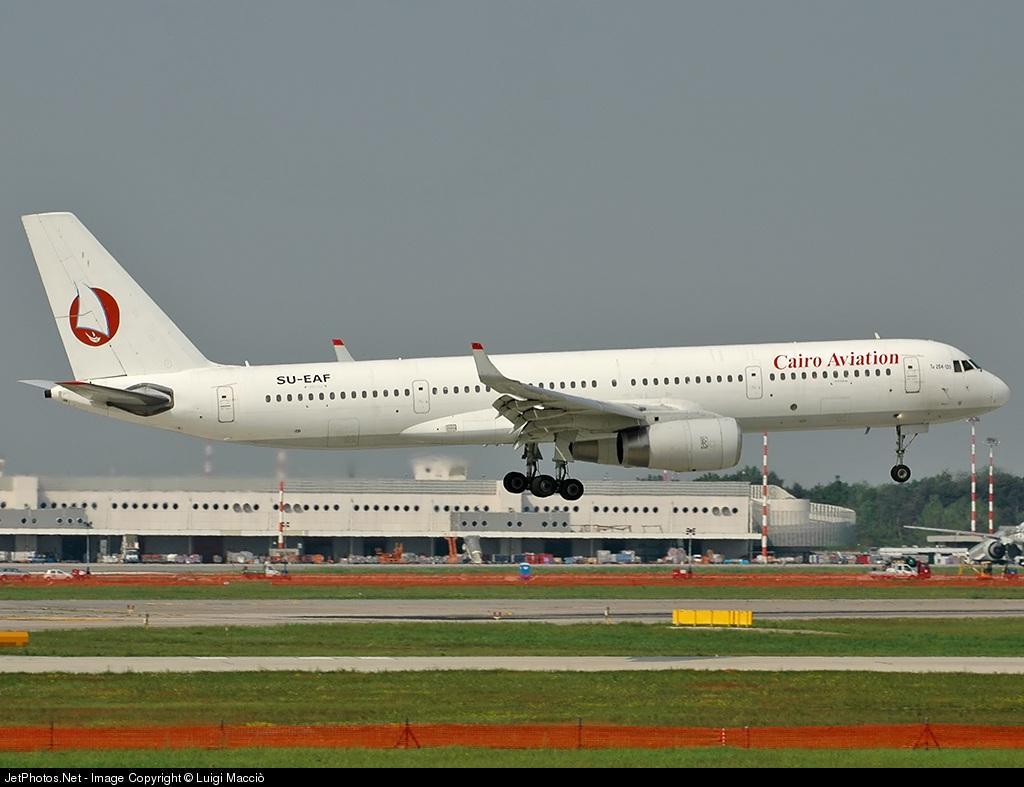 SU-EAF - Tupolev Tu-204-120 - Cairo Aviation