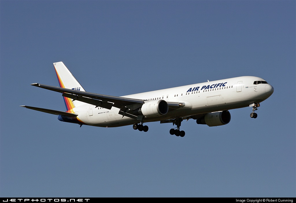 DQ-FJC - Boeing 767-3X2(ER) - Air Pacific