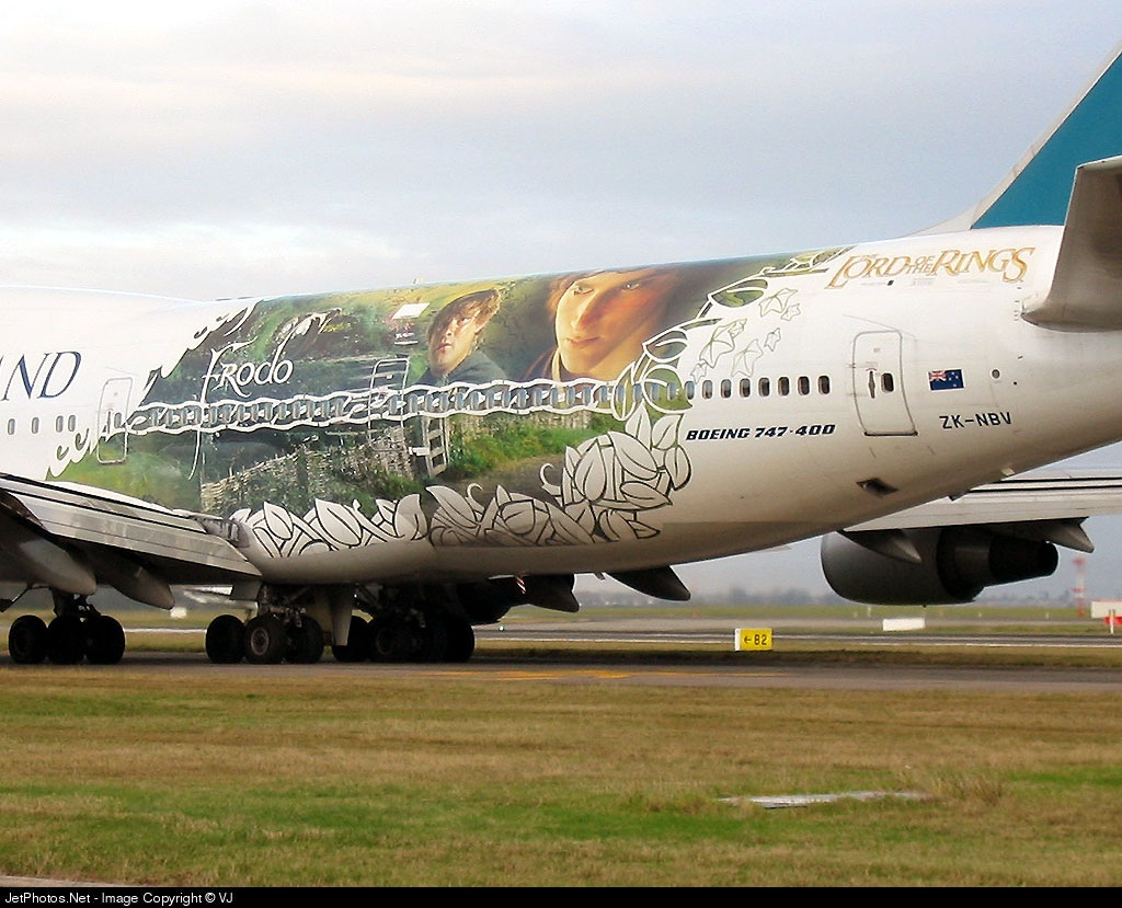 ZK-NBV - Boeing 747-419 - Air New Zealand