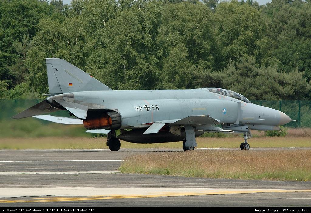 38-66 - McDonnell Douglas F-4F Phantom II - Germany - Air Force