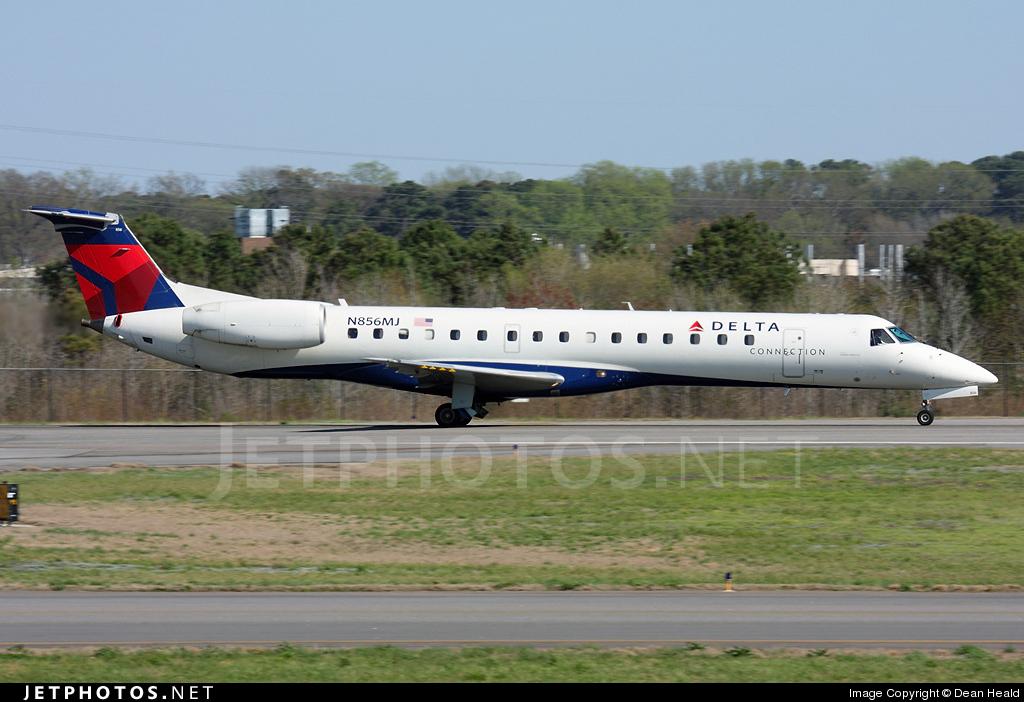 N856MJ - Embraer ERJ-145LR - Delta Connection (Freedom Airlines)