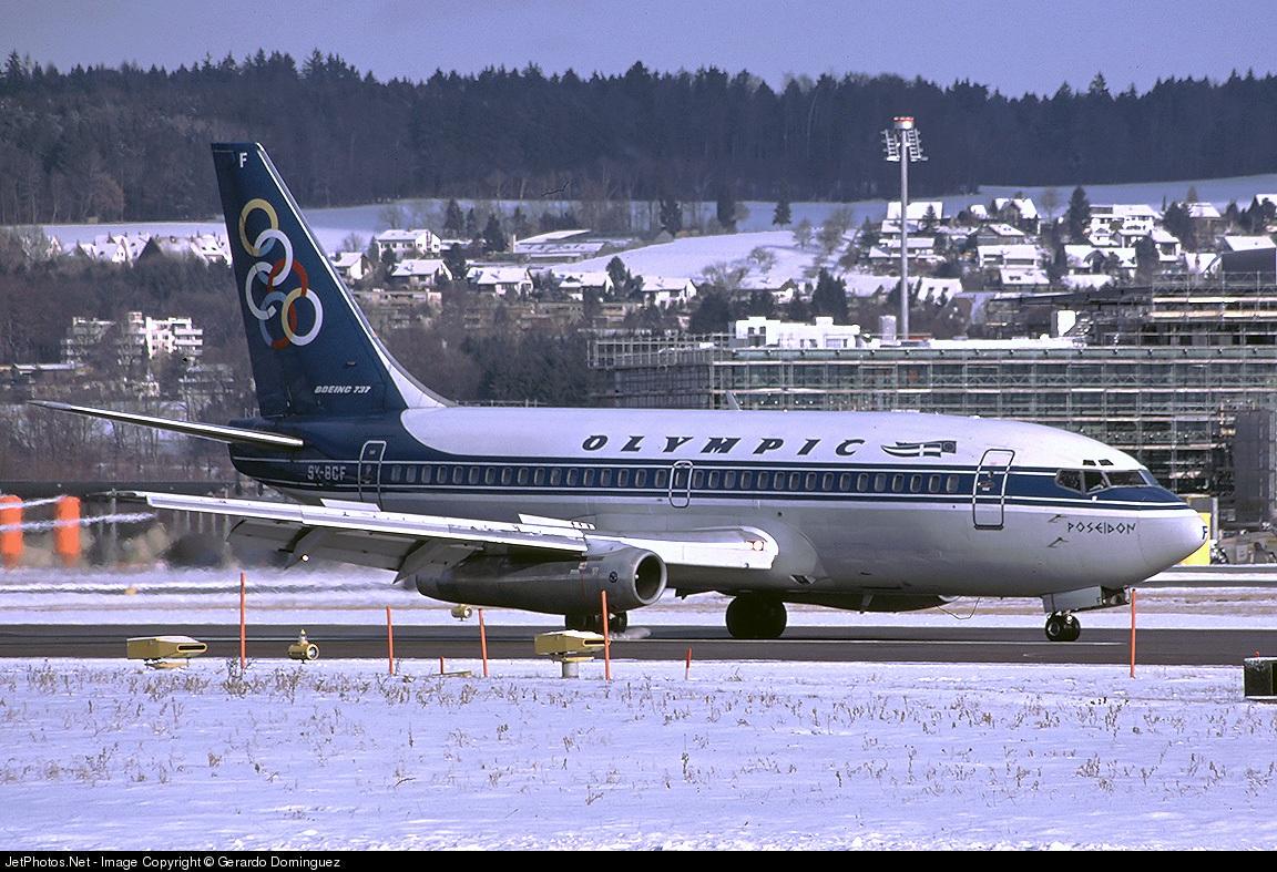 SX-BCF - Boeing 737-284(Adv) - Olympic Airways