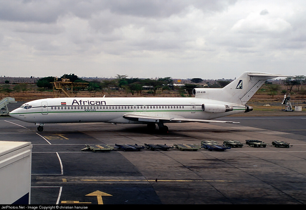 5Y-AXB - Boeing 727-231 - African Express Airways