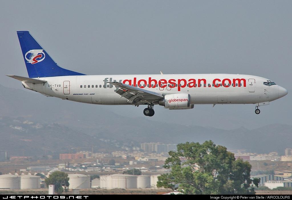 OK-TVR - Boeing 737-4Y0 - Flyglobespan (Travel Service)