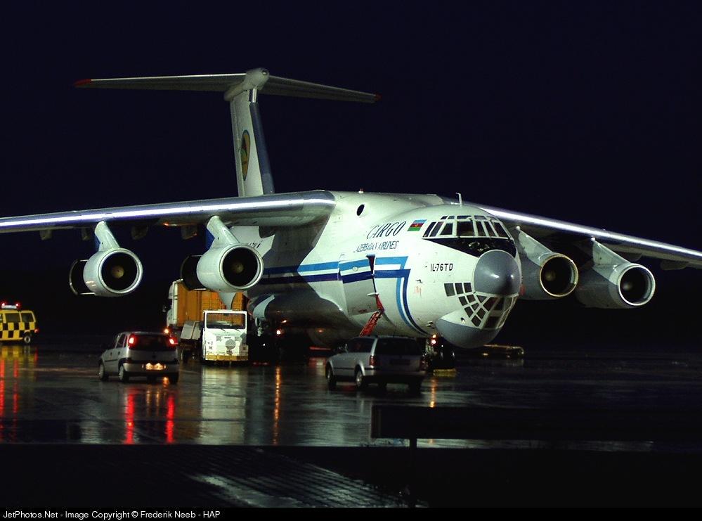 4K-AZ14 - Ilyushin IL-76TD - AZAL Azerbaijan Airlines