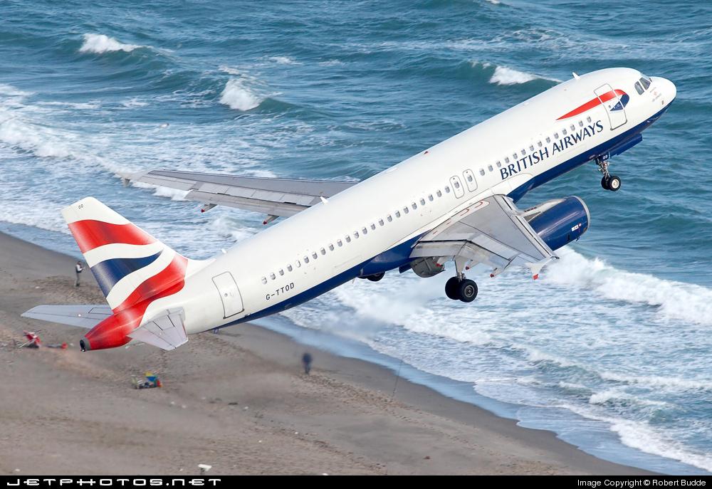 G-TTOD - Airbus A320-232 - British Airways (GB Airways)