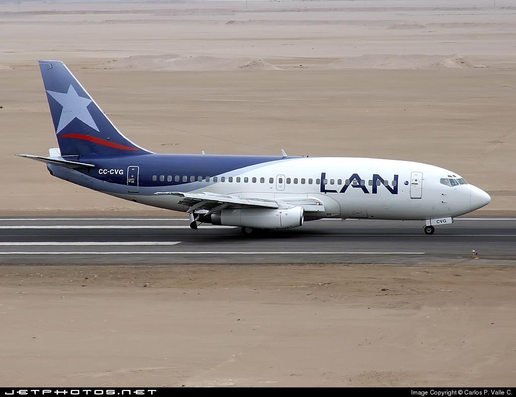 CC-CVG - Boeing 737-291(Adv) - LAN Airlines