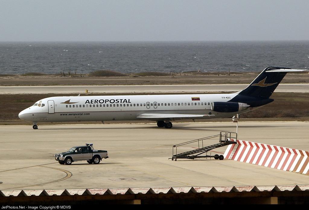 YV-42C - McDonnell Douglas DC-9-51 - Aeropostal - Alas de Venezuela