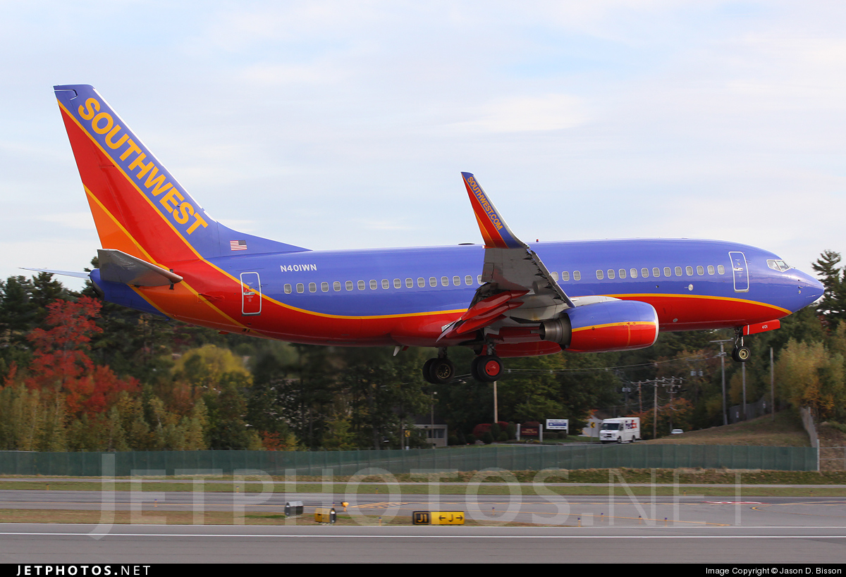 N401WN - Boeing 737-7H4 - Southwest Airlines
