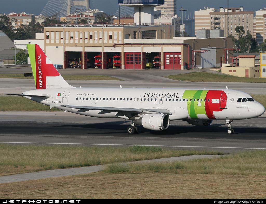CS-TNB - Airbus A320-211 - TAP Portugal