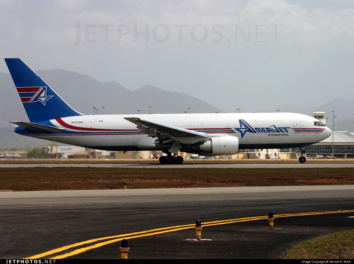 N741AX - Boeing 767-232(BDSF) - Amerijet International