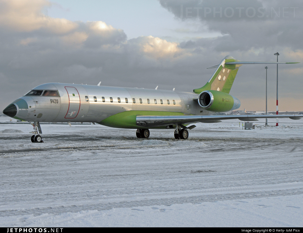 M-GSKY - Bombardier BD-700-1A10 Global Express - Private