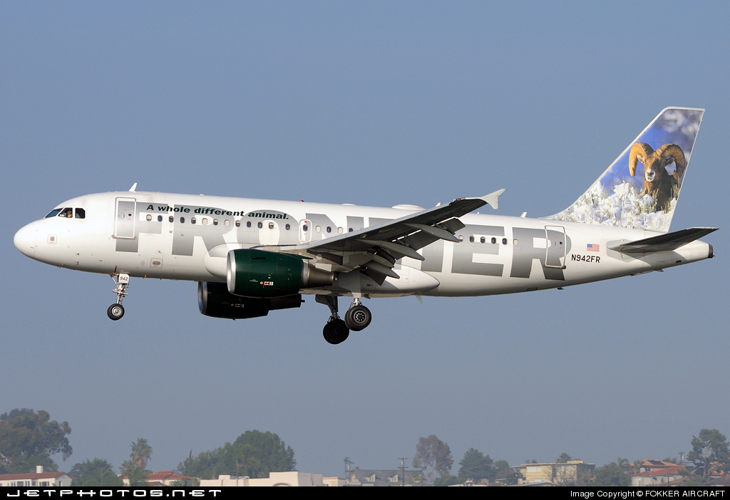 N942FR - Airbus A319-111 - Frontier Airlines