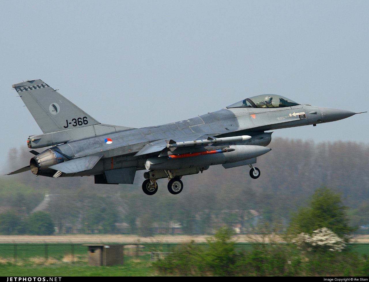 J-366 - General Dynamics F-16AM Fighting Falcon - Netherlands - Royal Air Force
