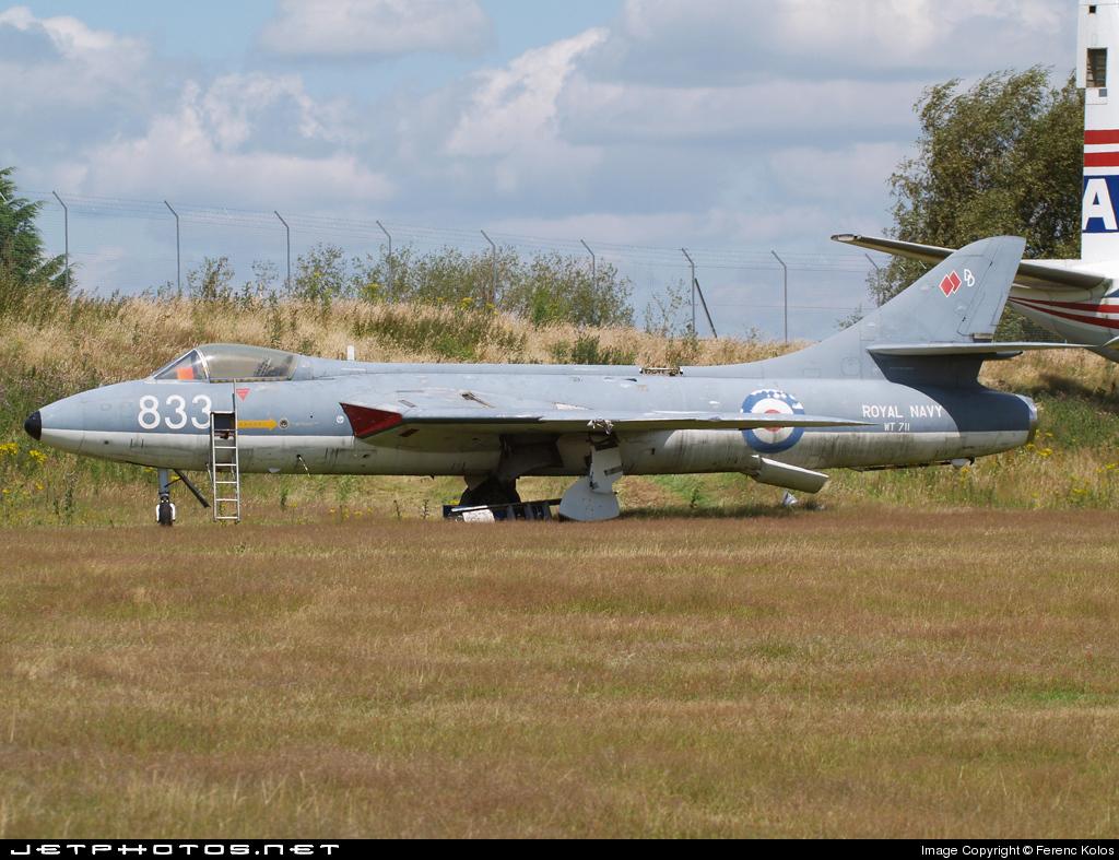 WT711 - Hawker Hunter GA.11 - United Kingdom - Royal Navy