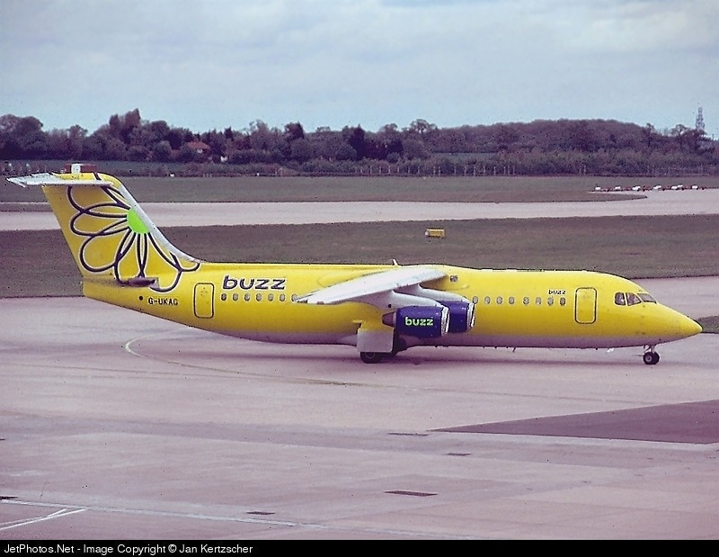 G-UKAG - British Aerospace BAe 146-300 - Buzz