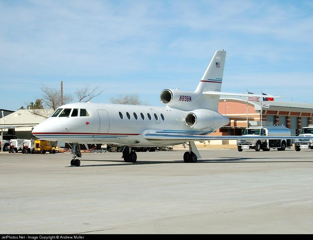N89BM - Dassault Falcon 50 - Private