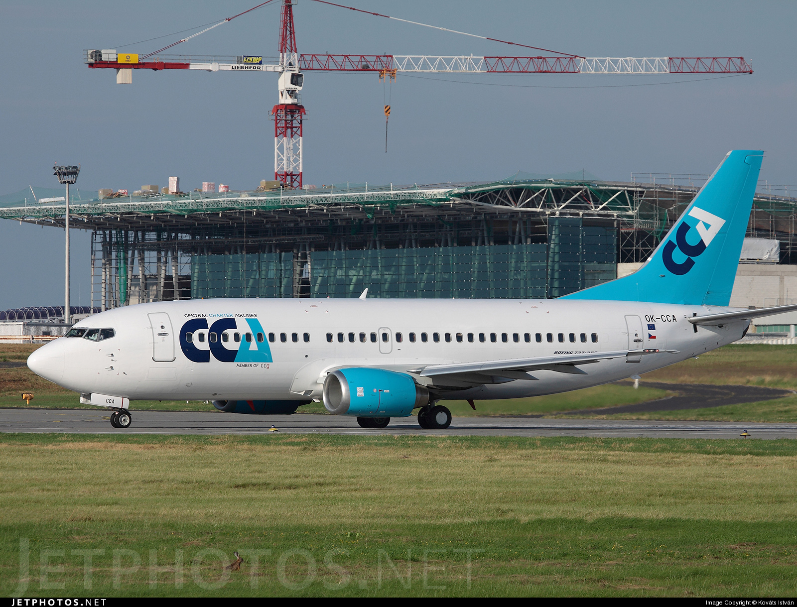 OK-CCA - Boeing 737-31S - Central Charter Airlines