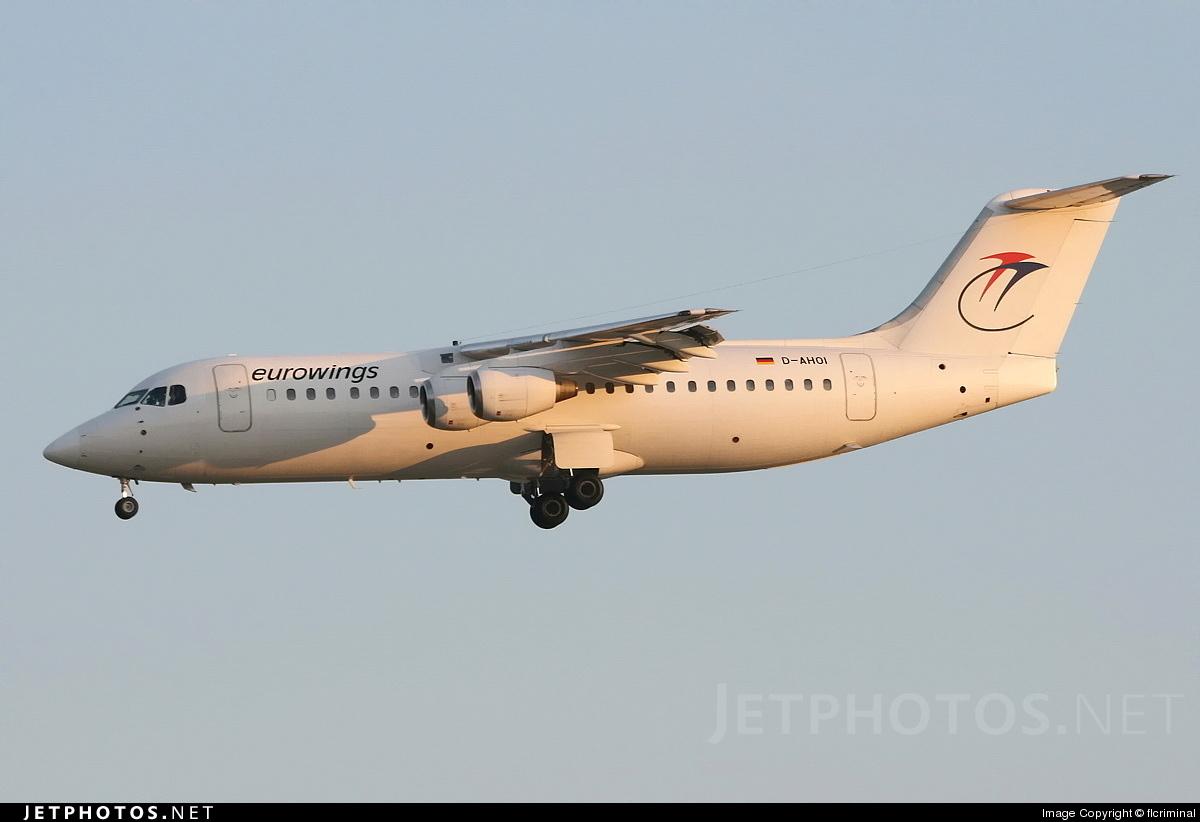 D-AHOI - British Aerospace BAe 146-300 - Eurowings
