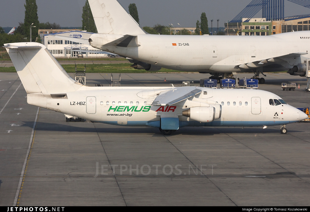 LZ-HBZ - British Aerospace BAe 146-200 - Hemus Air