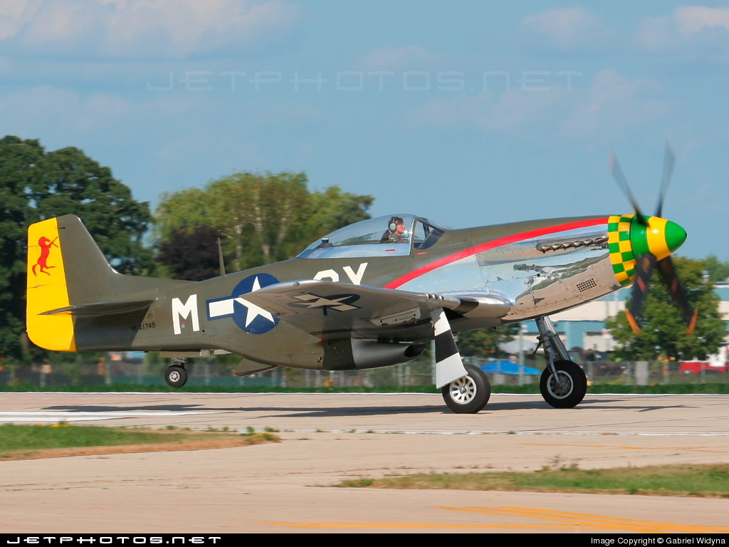 N41749 - North American P-51D Mustang - Private