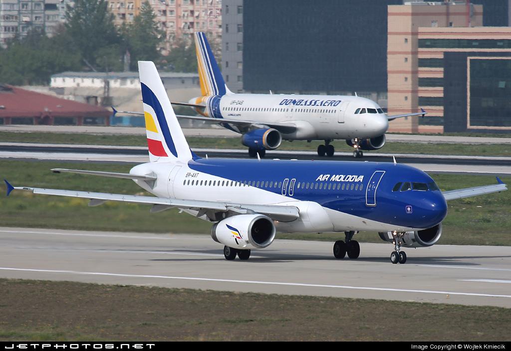 ER-AXT - Airbus A320-231 - Air Moldova