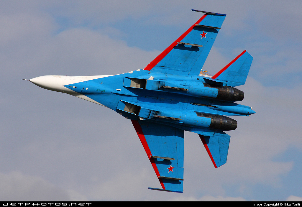 25 - Sukhoi Su-27UB Flanker C - Russia - Air Force