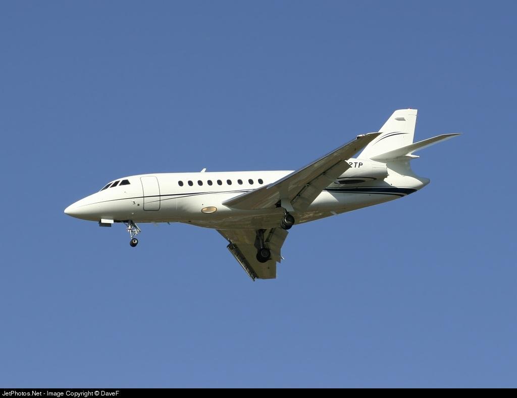N822TP - Dassault Falcon 2000EX - Travelers Insurance