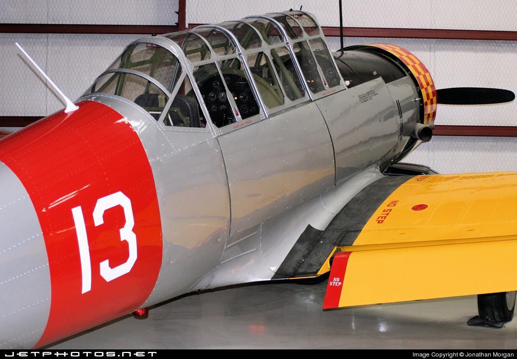 N61483 - Vultee BT-13A Valiant - Cavanaugh Flight Museum