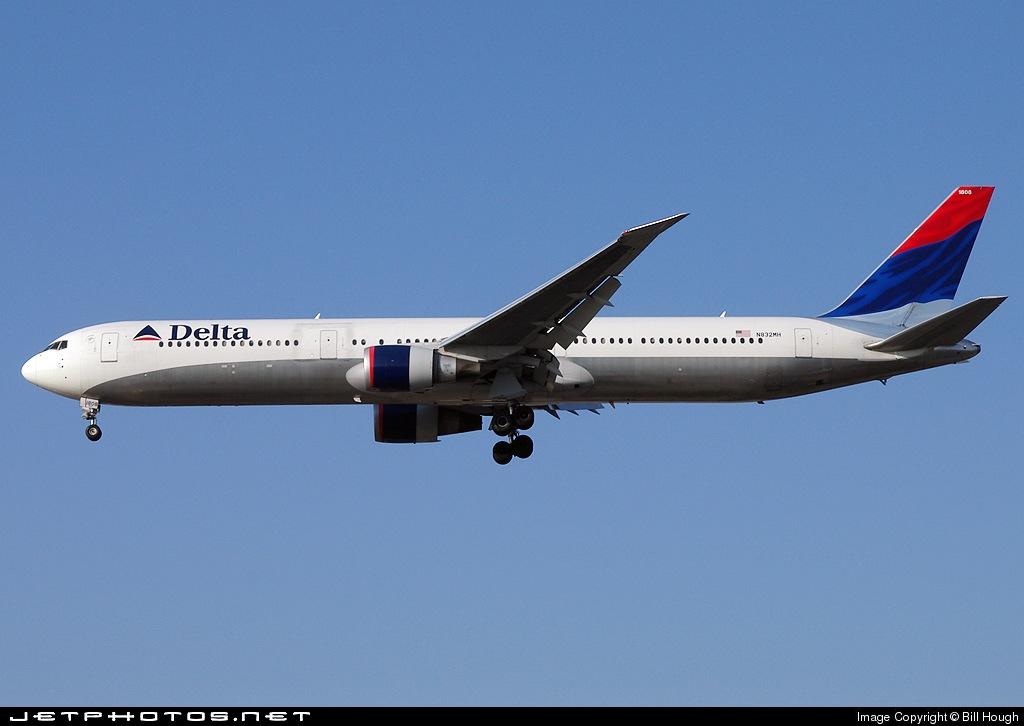 N832MH - Boeing 767-432(ER) - Delta Air Lines