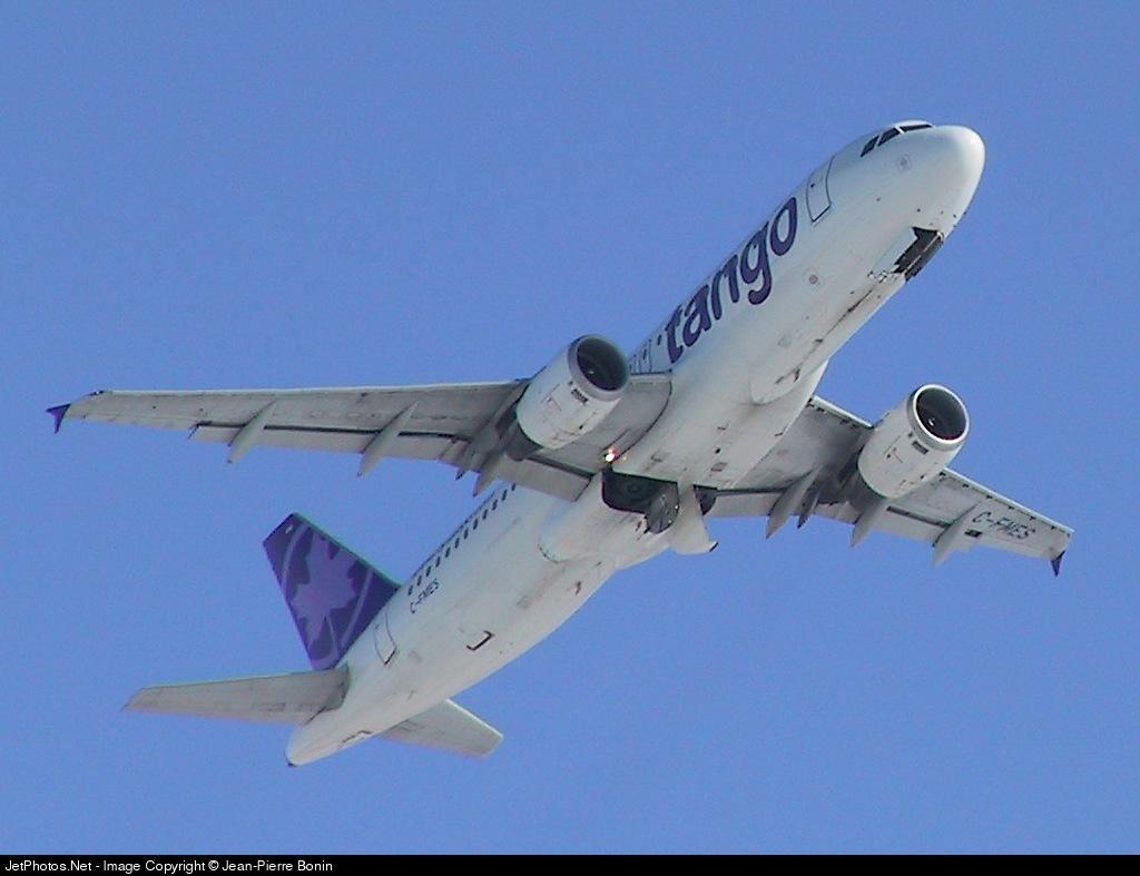 C-FMES - Airbus A320-211 - Air Canada