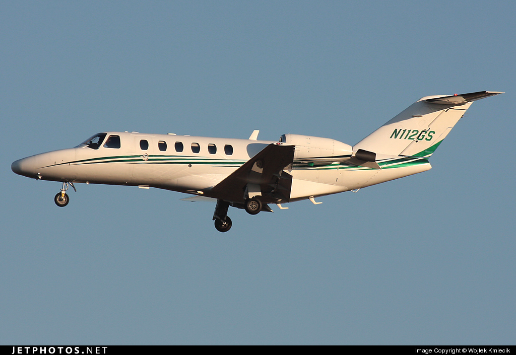 N112GS - Cessna 525A CitationJet 2 - Blue Sky