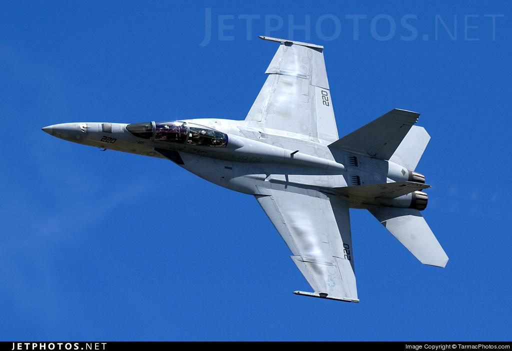 165806 - Boeing F/A-18F Super Hornet - United States - US Navy (USN)