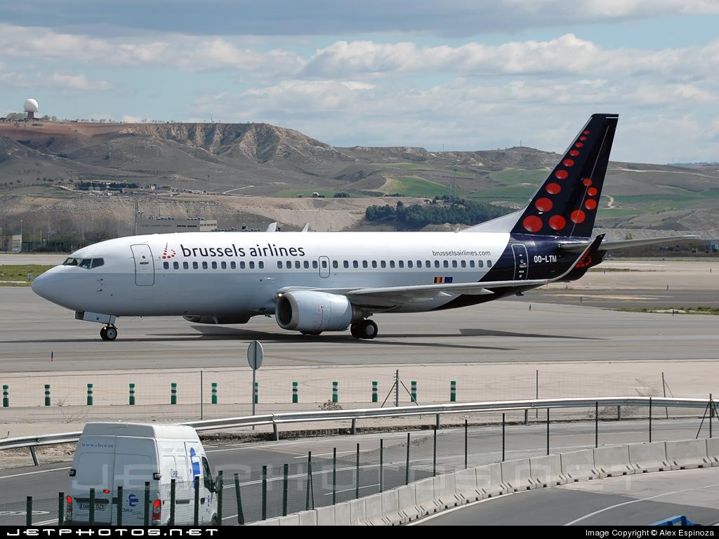 OO-LTM - Boeing 737-3M8 - Brussels Airlines