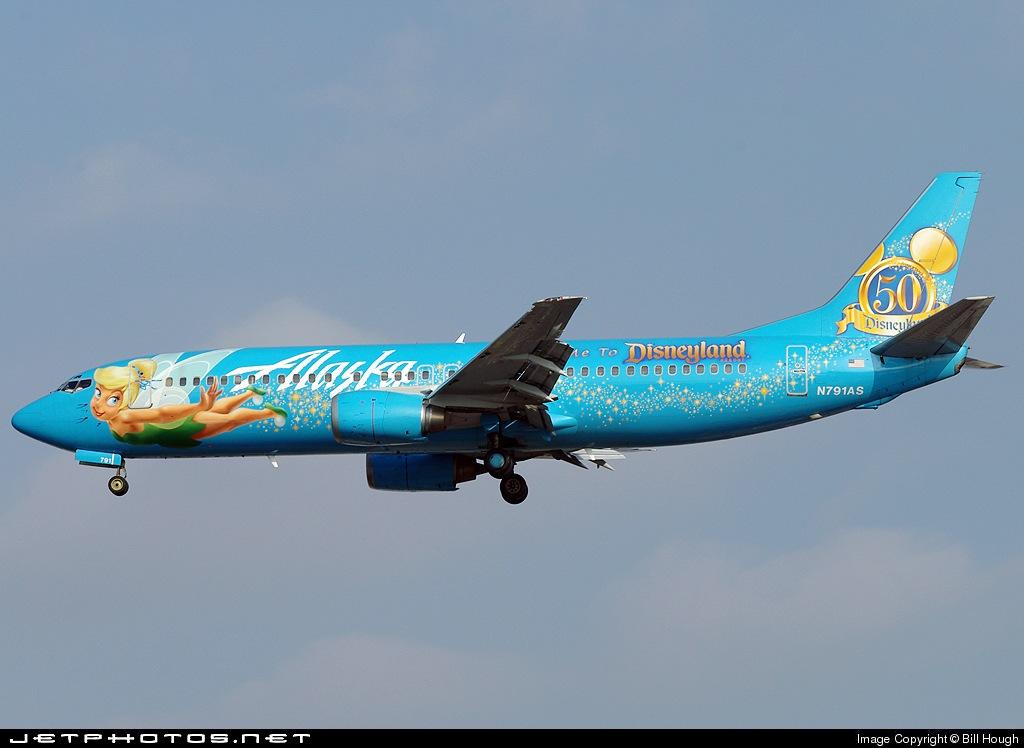 N791AS - Boeing 737-490 - Alaska Airlines