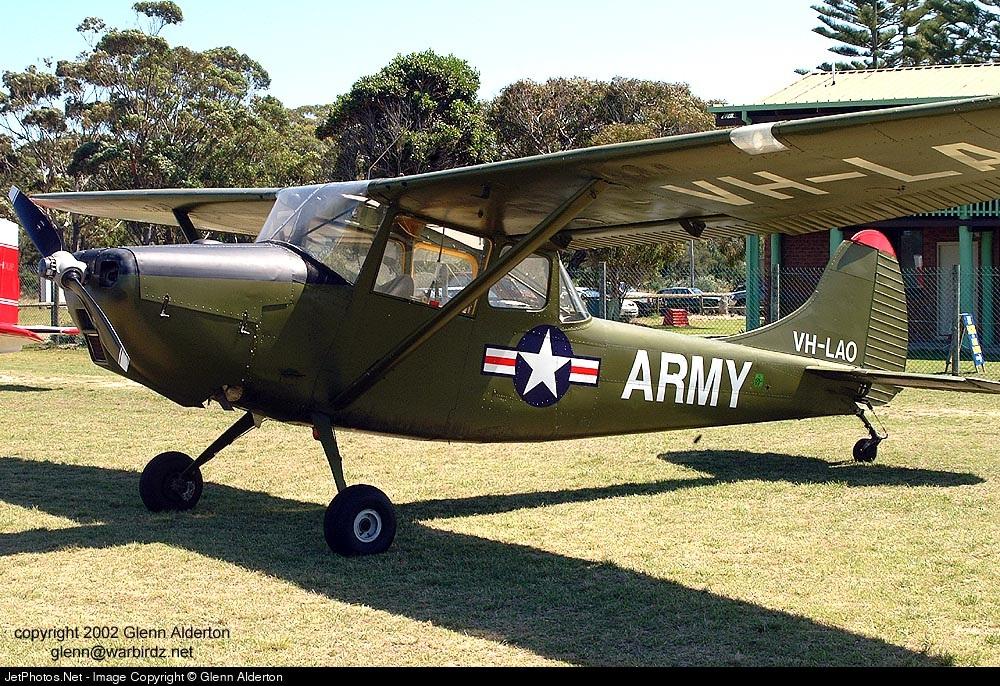 VH-LAO - Cessna O-1 Bird Dog - Private