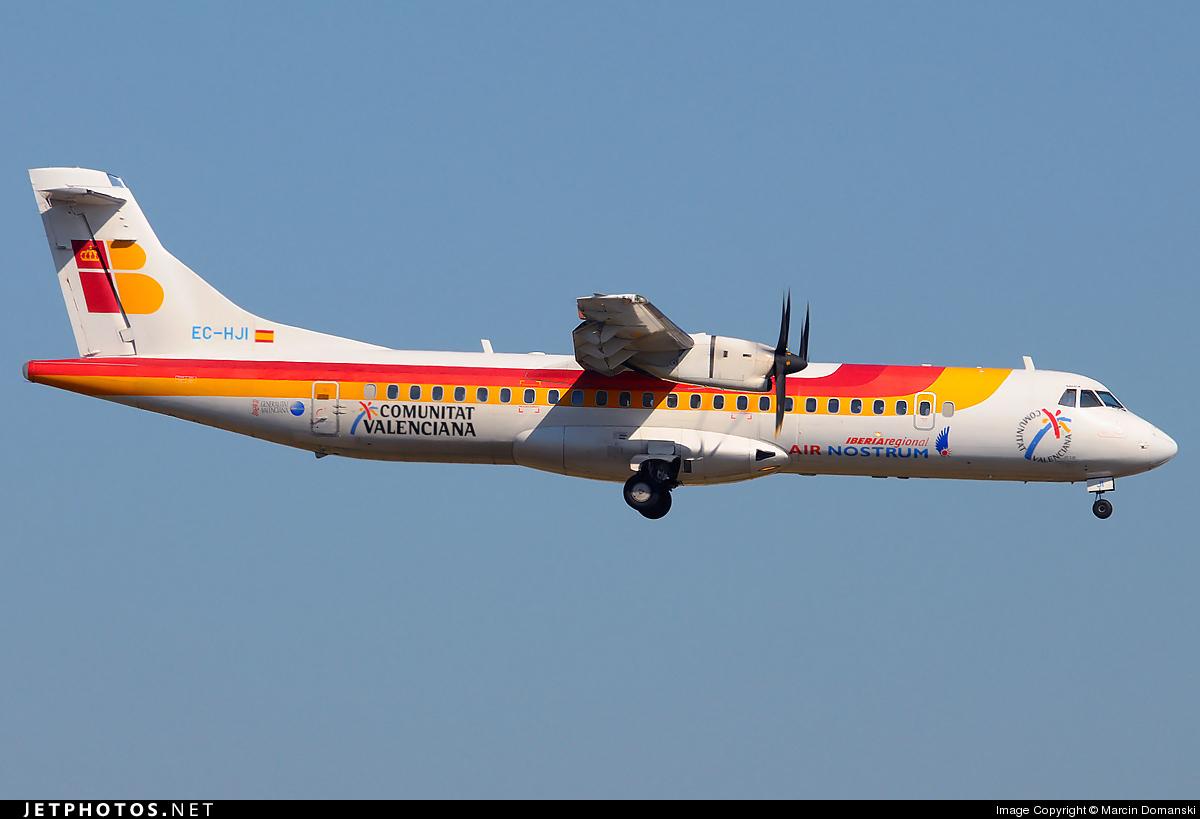 EC-HJI - ATR 72-212A(500) - Iberia Regional (Air Nostrum)