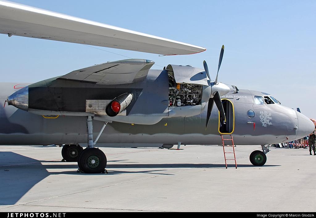 2507 - Antonov An-26 - Czech Republic - Air Force