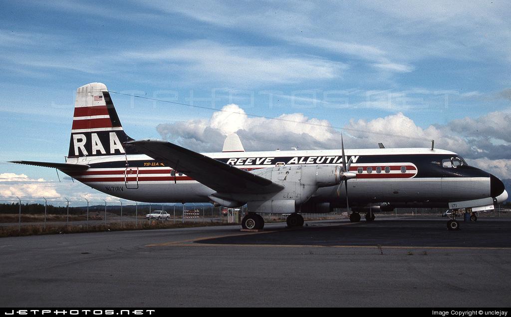 N171RV - NAMC YS-11A - Reeve Aleutian Airways (RAA)