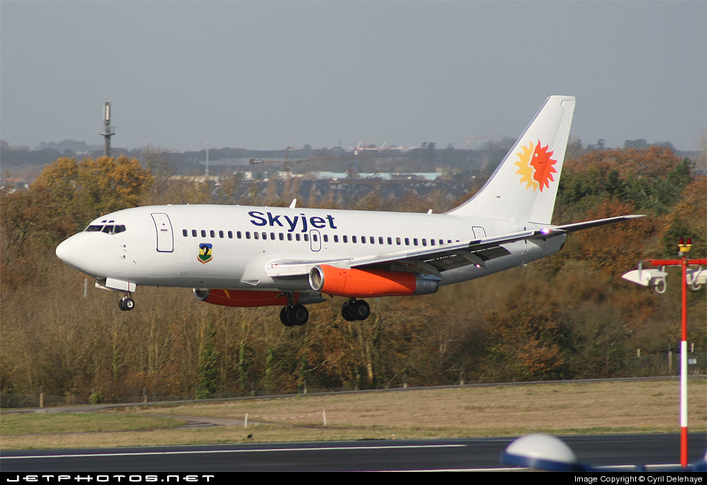 N326DL - Boeing 737-232(Adv) - Skyjet