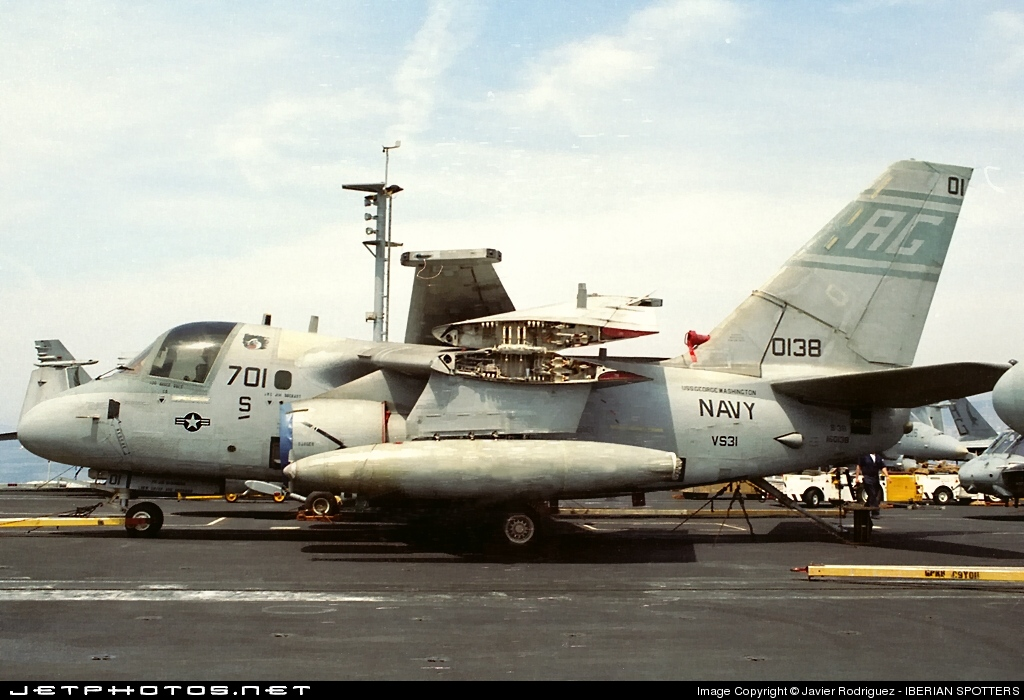 160138 - Lockheed S-3B Viking - United States - US Navy (USN)