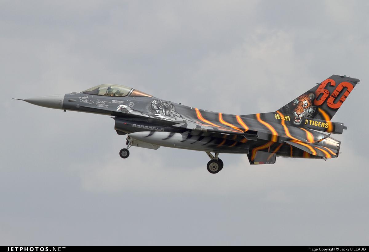 FA-87 - General Dynamics F-16AM Fighting Falcon - Belgium - Air Force