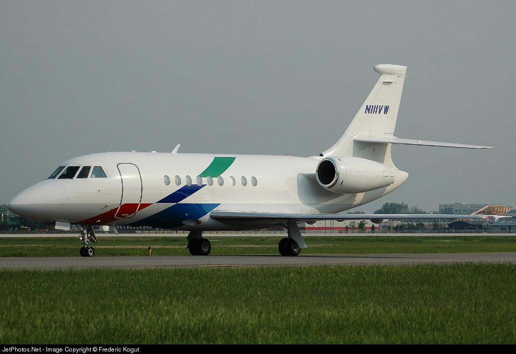 N111VW - Dassault Falcon 2000 - Private