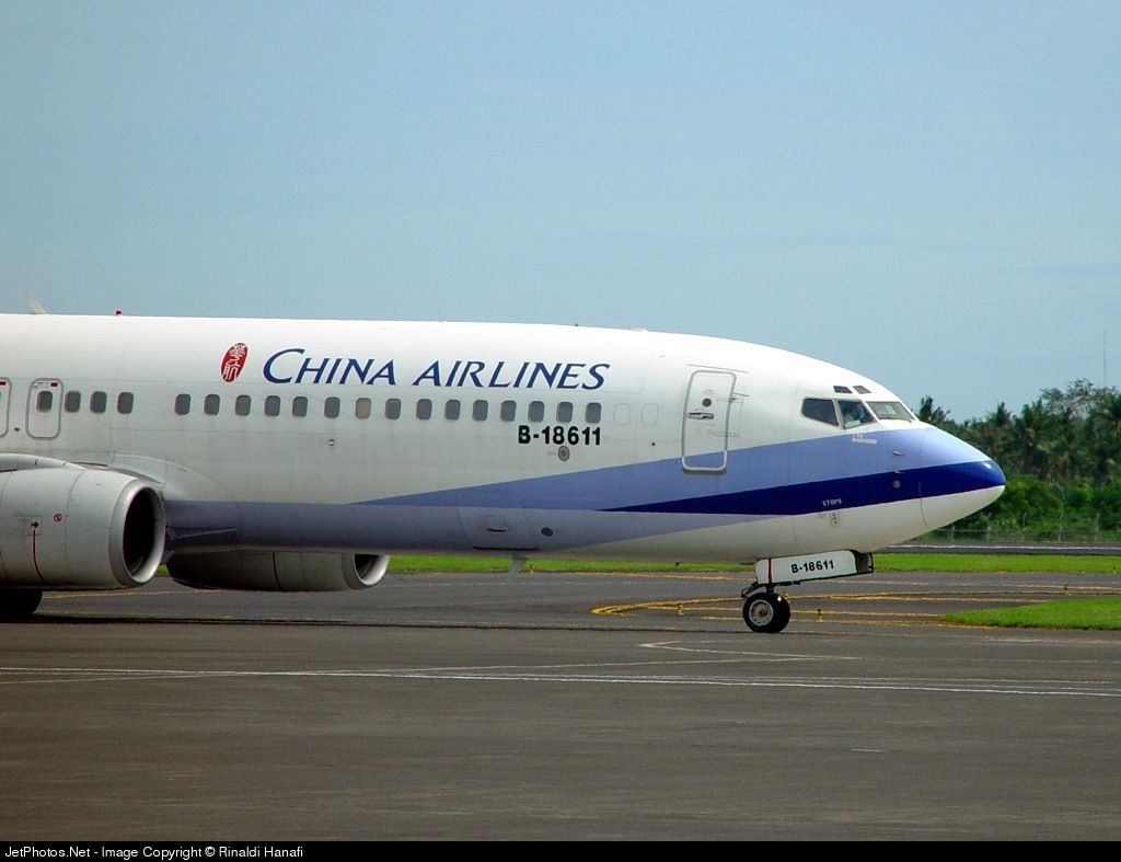 B-18611 - Boeing 737-809 - China Airlines