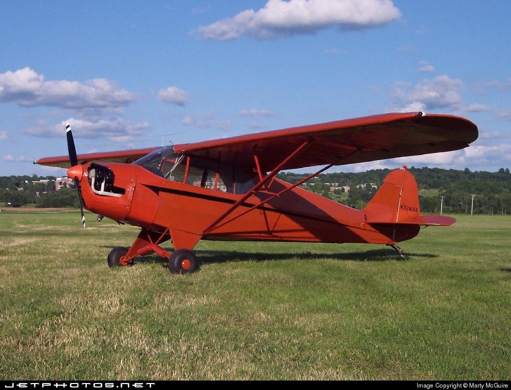 N32686 - Piper J-5A Cub Cruiser - Private