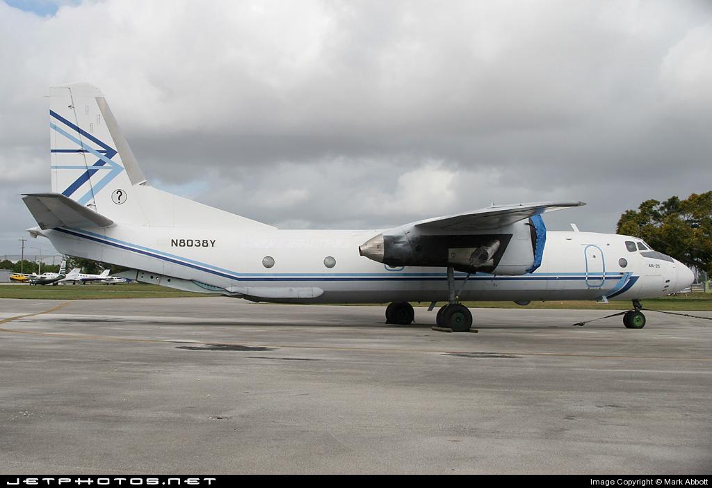 N8083Y - Antonov An-26B - Avialeasing Aviation Company