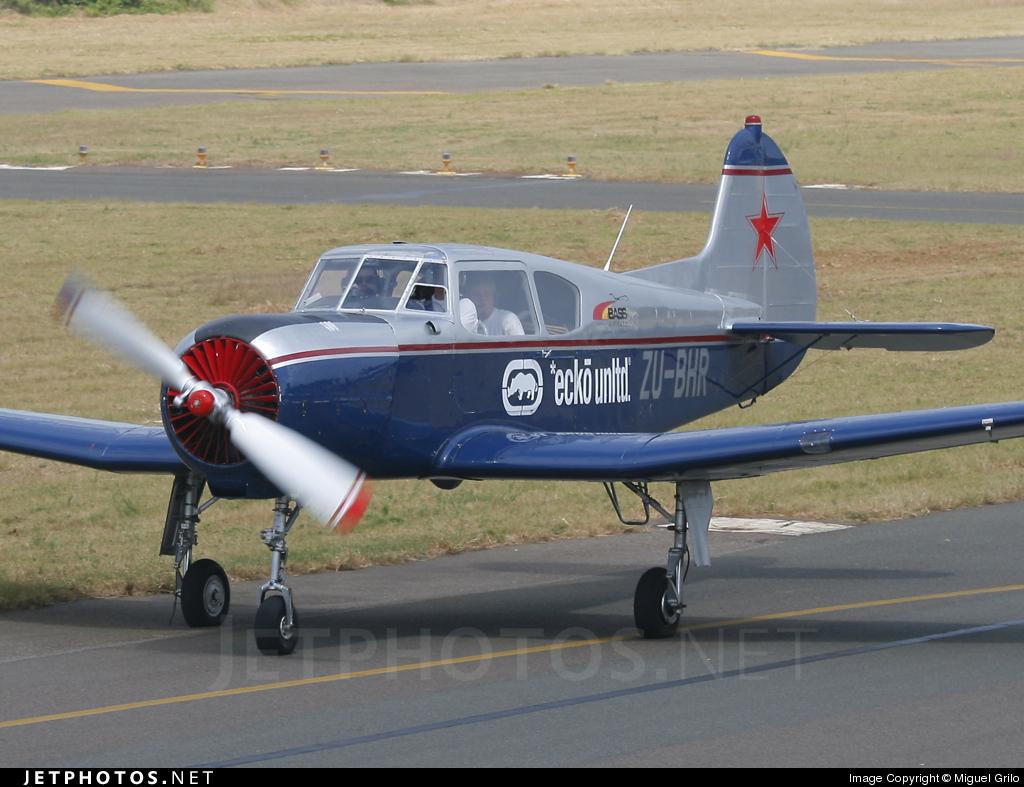 ZU-BHR - Yakovlev Yak-18T - Private