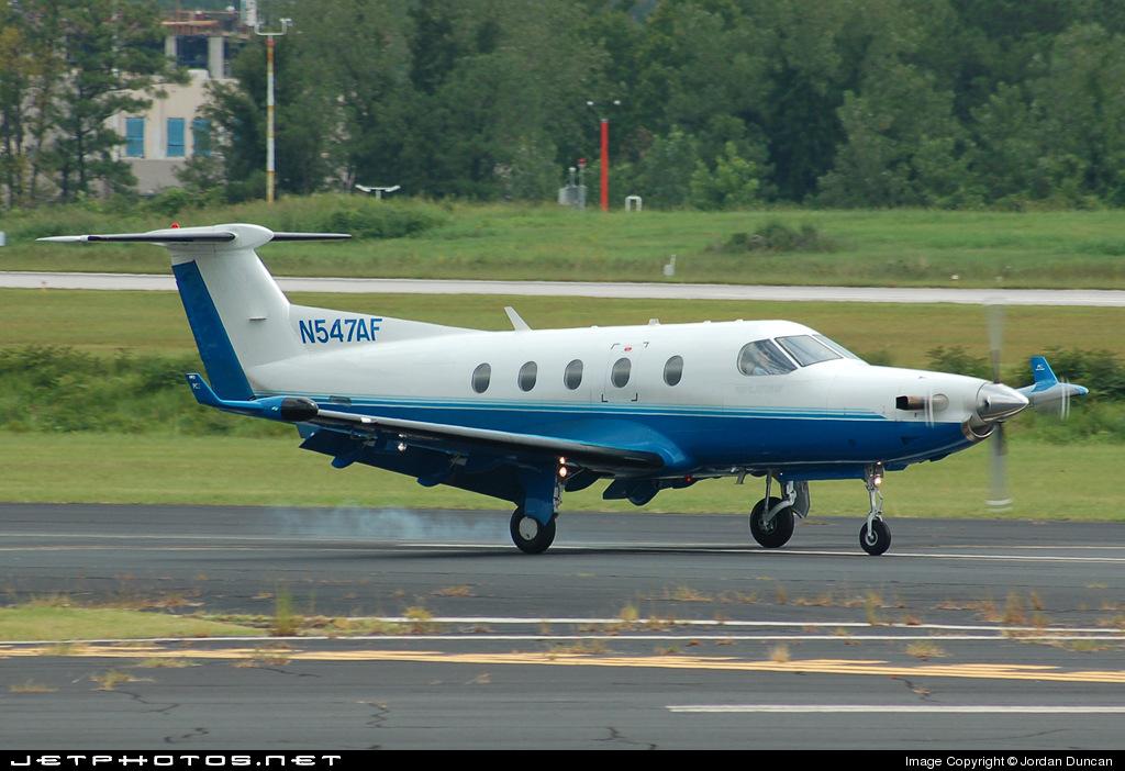 N547AF - Pilatus PC-12/45 - Private